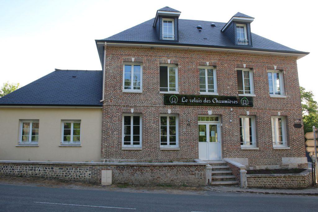 Le restaurant d'Aizier le Relais des Chaumières dans l'Eure en Normandie