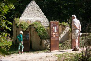 Sentier d'interprétation de la léproserie du site Chapelle St Thomas d'Aizier