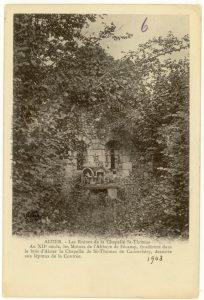 Les Ruines de la Chapelle St-Thomas