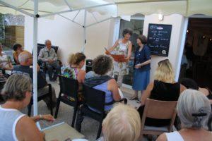 Soirée lecture de contes au Relais des Chaumières d'Aizier - 2 août 2018