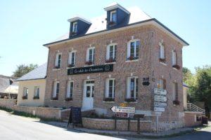 """Le restaurant """"Le Relais des Chaumières"""" à Aizier (Eure)"""