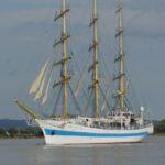 Le navire école russe MIR - Aizier octobre 2018 - J.L Maréchal