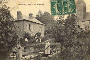 La Fontaine-Lavoir d'Aizier (Eure)