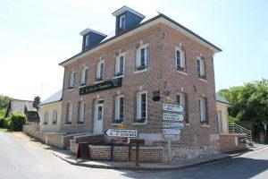 """Le restaurant d'Aizier """"Le relais des Chaumières"""" - mai 2018"""