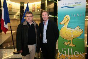 Benoît Gatinet et Christophe Foliot à la préfecture de Paris-Île de France (2011)