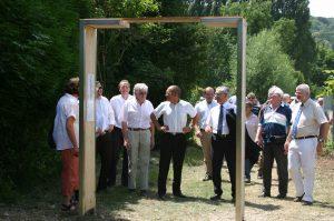 Inauguration du sentier de randonnée entre Aizier et Vieux-Port
