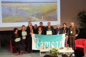 Les représentants du site Ramsar du Marais Vernier et vallée de la Risle maritime © A. Dausse FMA